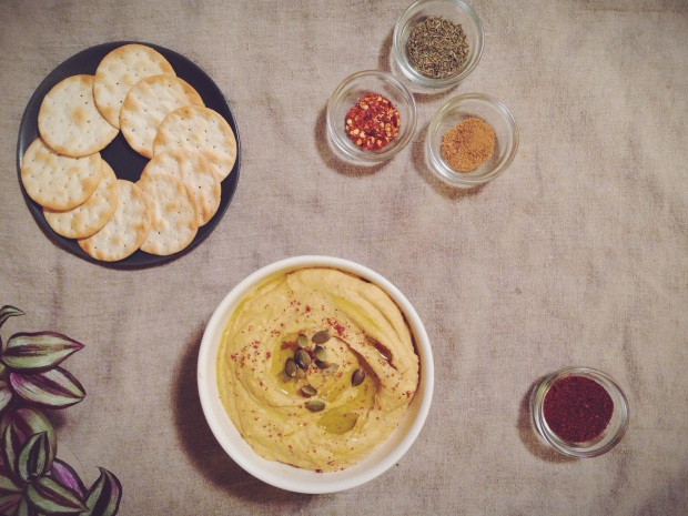 delicata squash hummus
