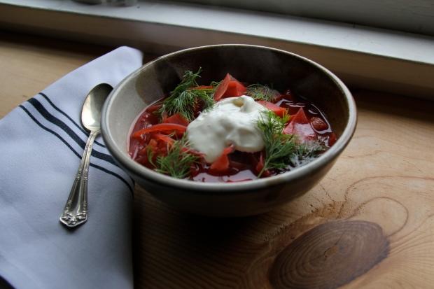 winter borscht