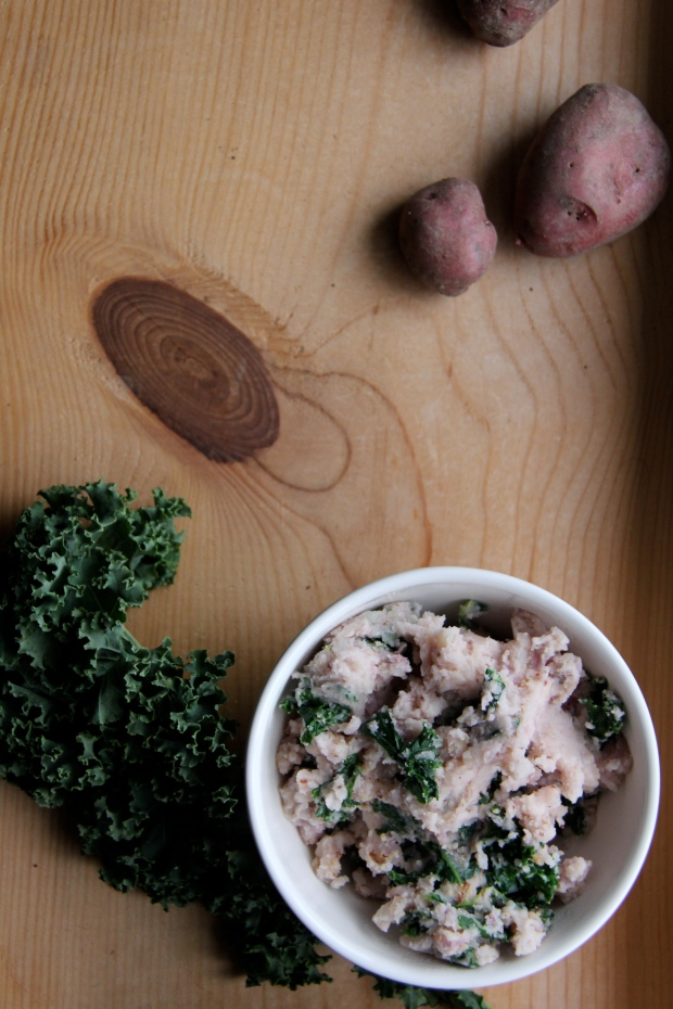 colcannon and potatoes
