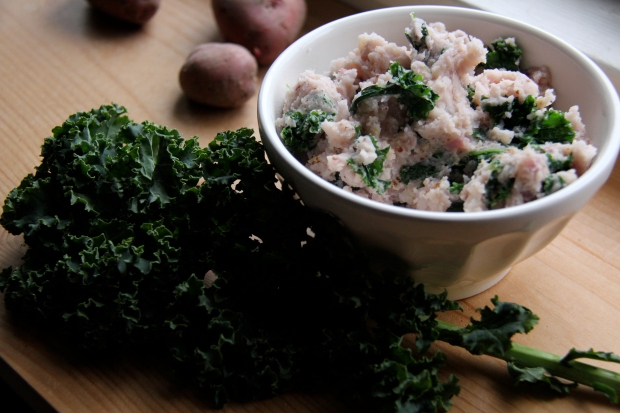 colcannon and kale