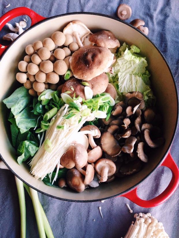 Mushroom nabe